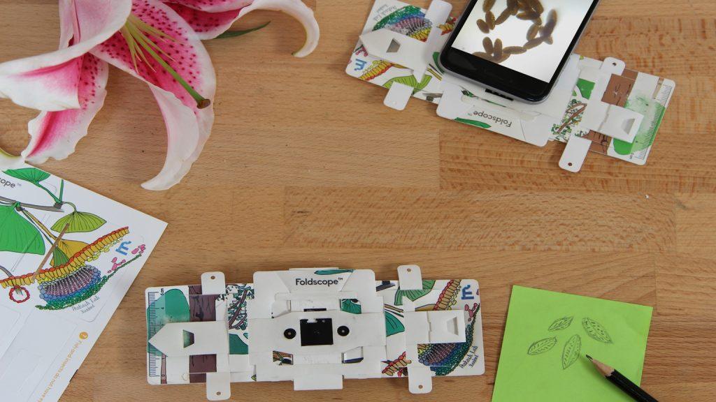 折り紙顕微鏡