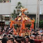 花園神社例大祭2017の日程|神輿の朱引きや交通規制や露店の時間は?